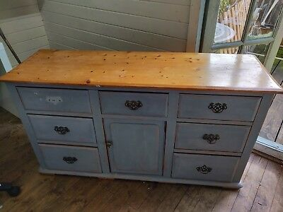 Vintage sideboard cabinet shabby chic
