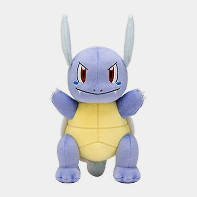 Pokemon Center Wartortle Plush Doll Poke Soft Toy 2017