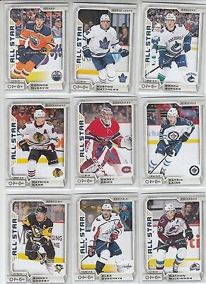 2018-19 O-Pee-Chee Complete Set With Marquee Rookie 600 Cards