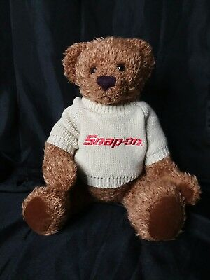 Snap on tool Promotional Teddy Bear with Sweater 1999.