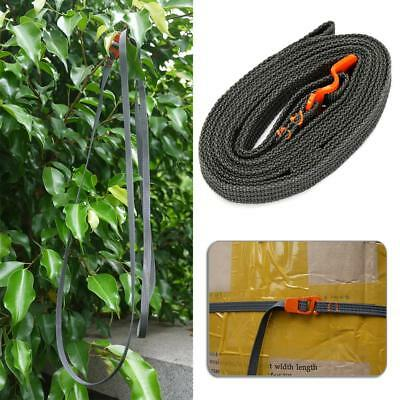 Outdoor Cycling Buckle Tie-Down Belt Car Cargo Strap Luggage Lash Tension Belt
