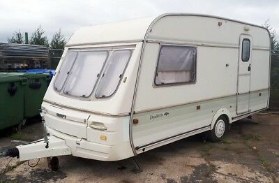 Swift Classic Doublette 2 Berth Touring Caravan late 90's EX14