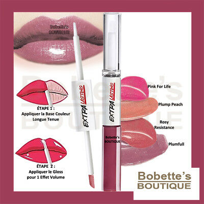 ROUGE à LÈVRES - LAQUE PLUMP and STAY EXTRA LASTING AVON