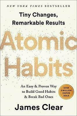 Atomic Habits by James Clear (English) Hardcover Book Free Shipping!