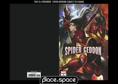 (Wk51) Spider-Geddon #5B - In Hyuk Lee Connecting Variant - Preorder 19Th Dec