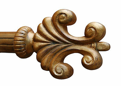 Hickory Manor House Open Plume Curtain Finial