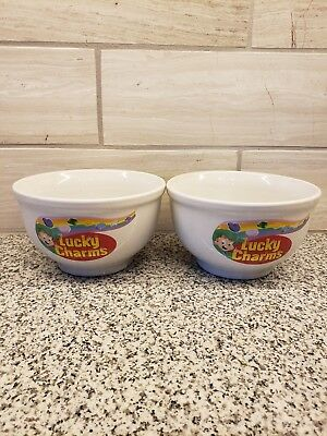LUCKY CHARMS Cereal Bowl General Mills Sherwood Brands of RI