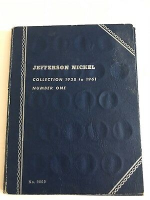 Jefferson Nickel Book #1, With (49) Nickels