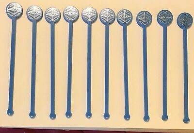 10 Vintage Pan Am Airlines Swizzle Sticks ~Stirrers
