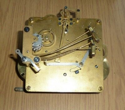 Anvil 1930's Made in Baden Westminster Chime mantel clock movement for spares