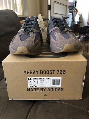 19890e58093 SUPREME Adidas Yeezy Boost 700 Mauve Wave Runner US Size 9 100% Authentic!