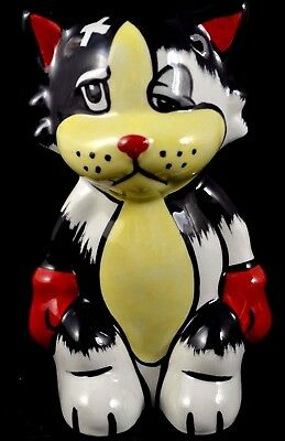 *** LORNA BAILEY ALI THE CAT BOXER MINT CONDITION - Signed ***