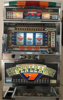 YAMASA Pachislo Slot Machine Great Condition Big Chance Game Seven League Type A