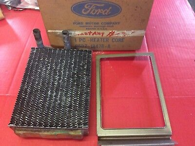 NOS FORD MUSTANG 1965-68 Heater Core In Original Ford Box