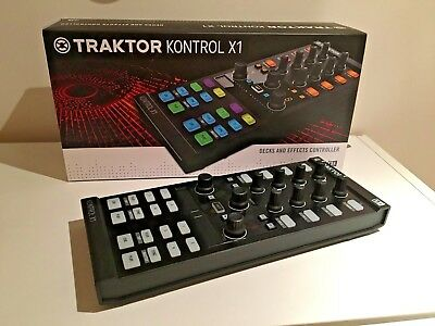 Native Instruments Traktor Kontrol X1 Mk2 + Case + Box