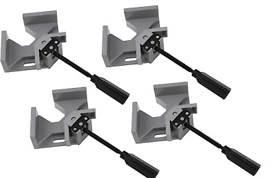 Set of 4 Corner Right Angle Vice Clamps Metal Welding Woodworking 90 Degree