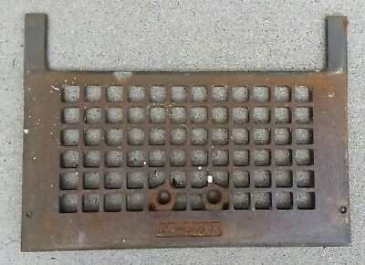 Antique Vintage Floor Wall Heater Furnace Grille Grate Register Vent Brass 1920s