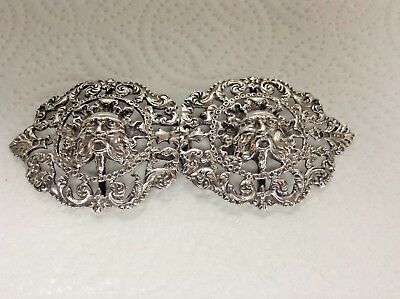 Antique Sterling Silver Nurses Buckle by London Mkr Thomas William Jackson 1892