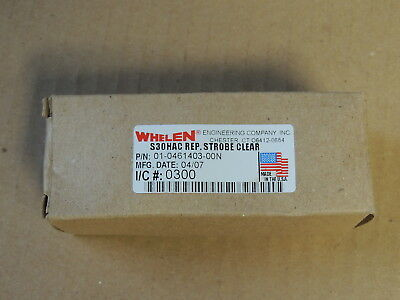Whelen S30HAC Replacement Strobe Light Bulb Clear 01-461403-00N