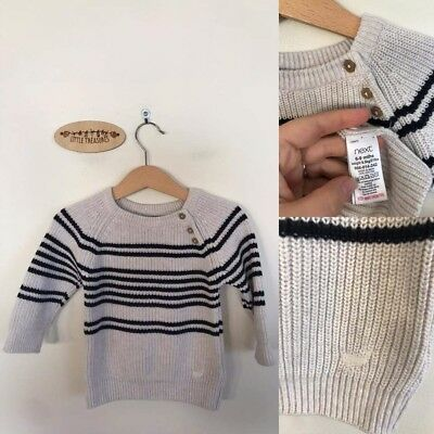 Sz 6-9m (huge sizing) Next chunky knit pullover