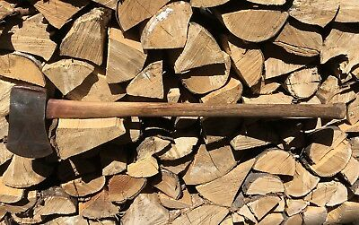 Old 1935-1943 Single Bit Axe THE COLLINS CO Collinsville Conn. w/ WPA Stamp