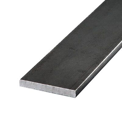 "A36 Hot Rolled Steel Flat Bar, 1-3/4"" x 2"" x 12"""