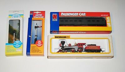 0670 Bachmann HD 440 Central Pacific Jupiter Locomotive Train Engine Cars Signal