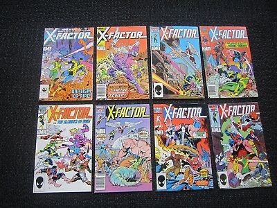 HUGE X Factor comic lot - 141 issues - 1st Apocalypse, Bedlam
