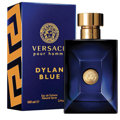 NEW Versace Pour Homme Dylan Blue EDT Spray Pefume 100ml
