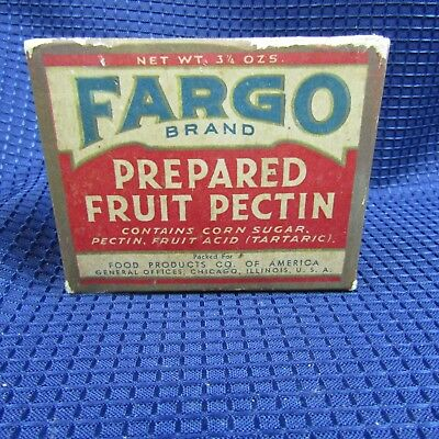 Frago Brand Prepared Fruit Pectin unopened box