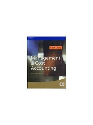 Management and Cost Accounting (Management & Cost A... by Drury, Colin Paperback