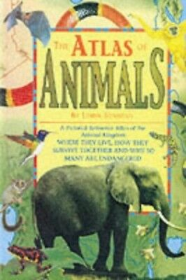 Atlas Of Animals (One Shot) by Sonntag, L Paperback Book The Cheap Fast Free