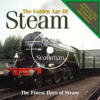 Golden Age of Steam - LP Book by Alex Sharkey Book The Cheap Fast Free Post