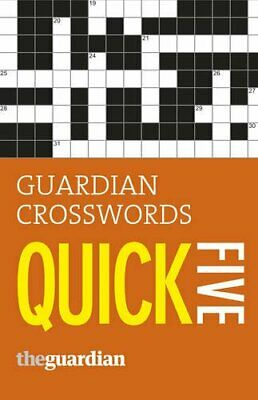 Guardian Quick Crosswords: 5 by Stephenson, Hugh Book The Cheap Fast Free Post