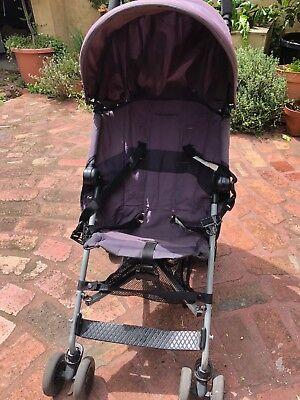 Maclaren Daytripper Stroller with Raincover and free VeeBee carrier