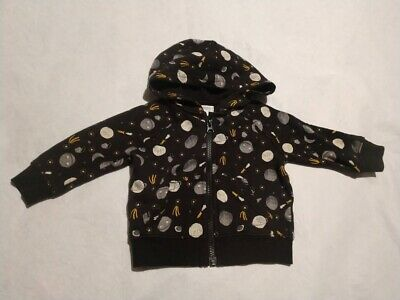 NWT Gymboree Planets Space Print Hoodie Sweatshirt Baby Toddler Boy