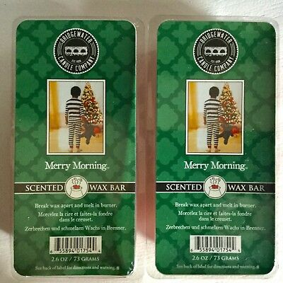 """PRICE REDUCED-Bridgewater Candle Company-Scented Wax Bar - """"Merry Morning"""" (2)"""