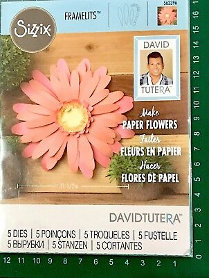 Sizzix Framelits Thinlits Die ~Large Daisy Code 562396