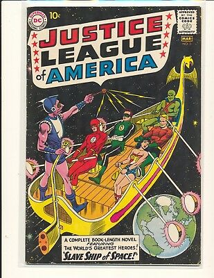 Justice League of America # 3 - 1st Kanjar Ro Fine Cond.