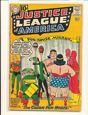 Justice League of America # 7 Good+ Cond. coupon cut out does not affect story