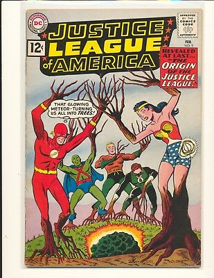 Justice League of America # 9 VG+ Cond.