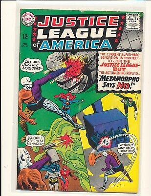 Justice League of America # 42 VG+ Cond. subscription crease