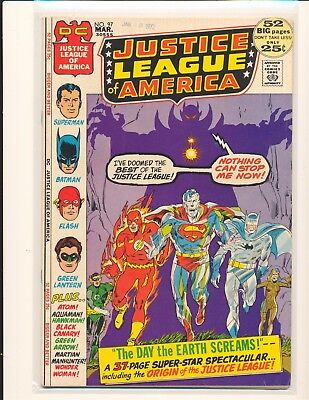 Justice League of America # 97 - Neal Adams cover VG/Fine Cond.
