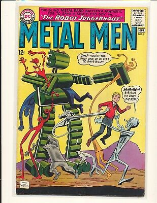Metal Men # 9 Good Cond. coupon cut out doesn't impact story