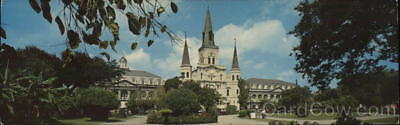 New Orleans,LA Jackson Square and St. Louis Cathedral Louisiana