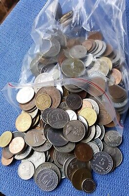 Bulk World Coins In One Kilo Packs  **good Mix Too !!**  Only $11 Kilo Top Deal