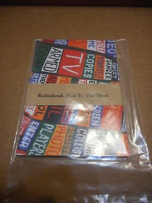 Radiohead - Original Hail To The Thief Postcards