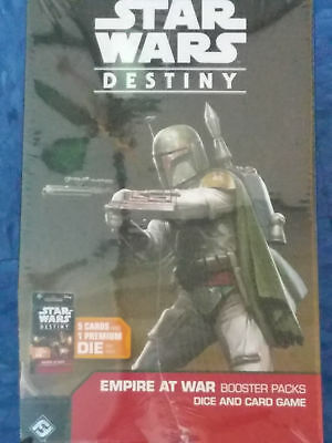 Brand New Star Wars Destiny Empire at War Sealed Booster Box (36 Packs)