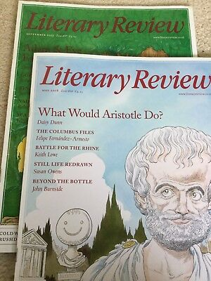 Literary Review Magazines May2018 And September 2017