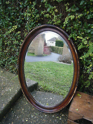 Antique Edwardian Very Large Mantlepiece Hall Mirror Reduced -Bargain Price!!